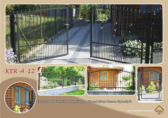 KER-A-12 kerítés duplex védelemmel